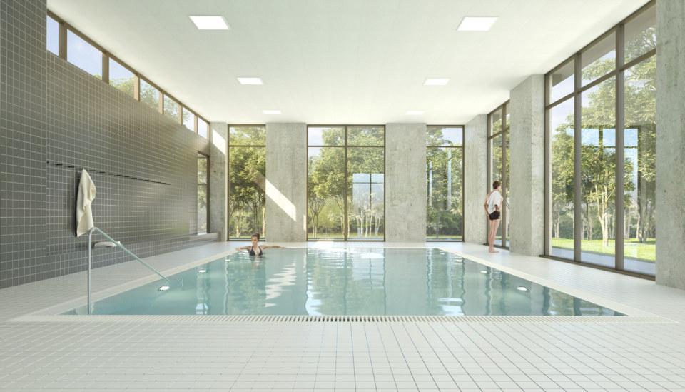 Erik-Nord-Arkitekt-Vestamager-Svømmehal-Tårnby-Kommune-Arkitekter-Arkitektkonkurrence-Varmtvandsbassin-Visualisering