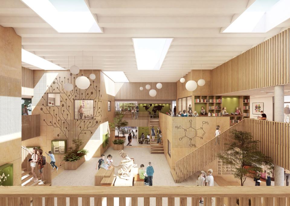Erik-Nord-Arkitekt-Aarhus-Frelloskolen-3d-Visualisering-rendering-GPP-arkitekter-2