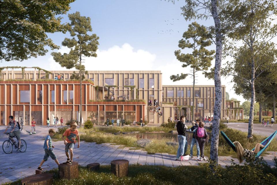 Erik-Nord-Arkitekter-Aarhus-Visualisering-Dybkaerskolen-GPP-Arkitekter-01