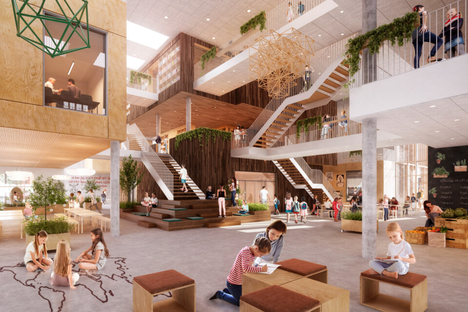 Erik-Nord-Arkitekter-Aarhus-Visualisering-Dybkaerskolen-GPP-Arkitekter-02